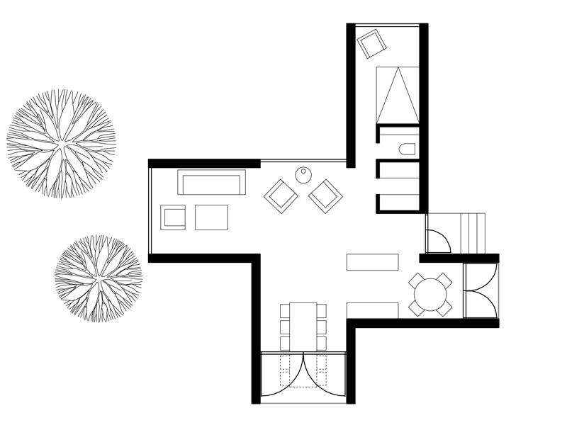 Four Cornered Villa In Finland By Avanto Architects