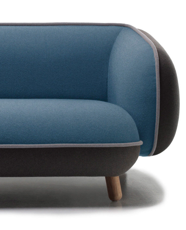 living room pouf country rooms 2016 snoopy sofa by iskos-berlin for versus