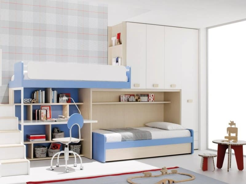 10 Colorful Modern Loft Bed Designs by Clever
