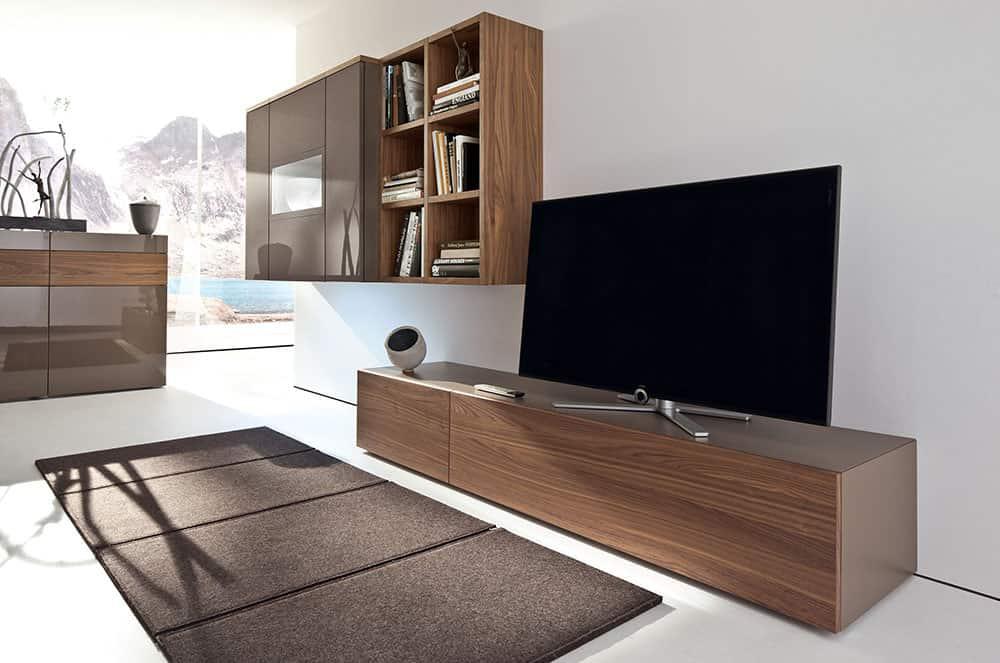 walnut furniture living room l shaped interior design india ideas modern series neo by huelsta