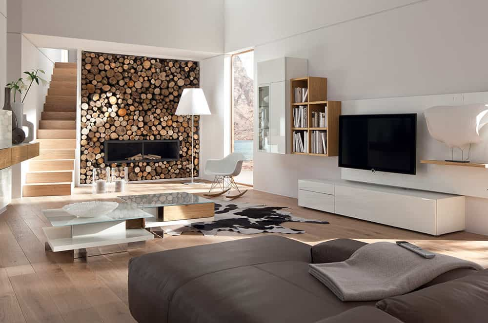 Modern Living Room Furniture Series Neo by Huelsta