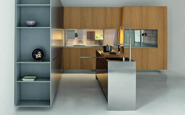 kitchen portable island clearance faucets slim by palomba serafini for elmar cucine