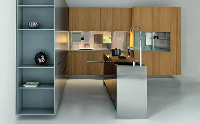 industrial kitchen island islands in kitchens slim by palomba serafini for elmar cucine