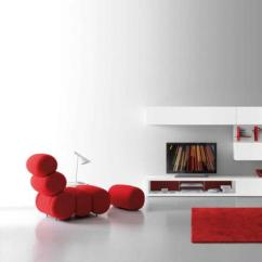 Modern White Living Room Furniture Couch Ideas 50 Design Pictures By Presotto Red Color