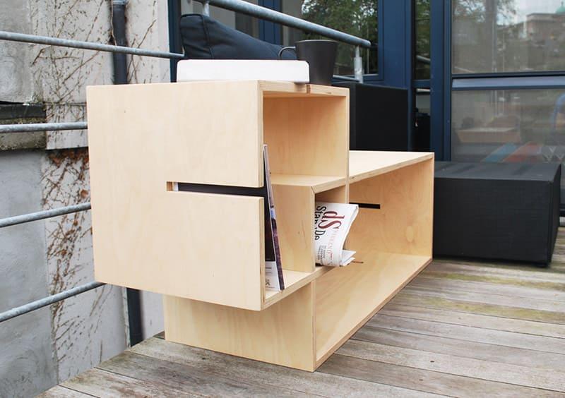 MoModul Modular Storage Furniture System by Xavier Coenen
