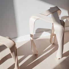 Chair Leg Design Office Recliner Stuck Ribbon Stool By Jan Lutyk