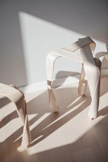 Ribbon Stool Jan Lutyk