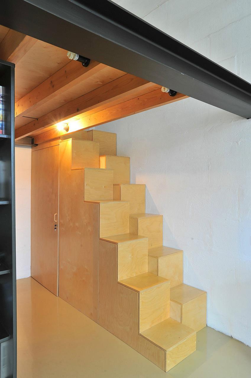 Loft Apartment In Former Radio Technics Factory By Inblum