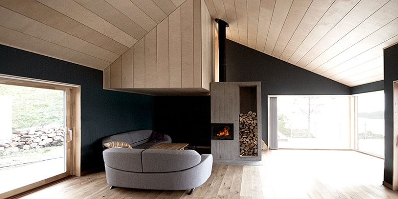 photos of living rooms beautiful and bedrooms cabin straumsnes - blend traditional modern ...