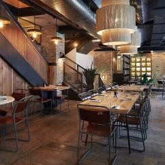 Wooden Restaurant Chairs Cool High In Industrial-vintage Style Paris