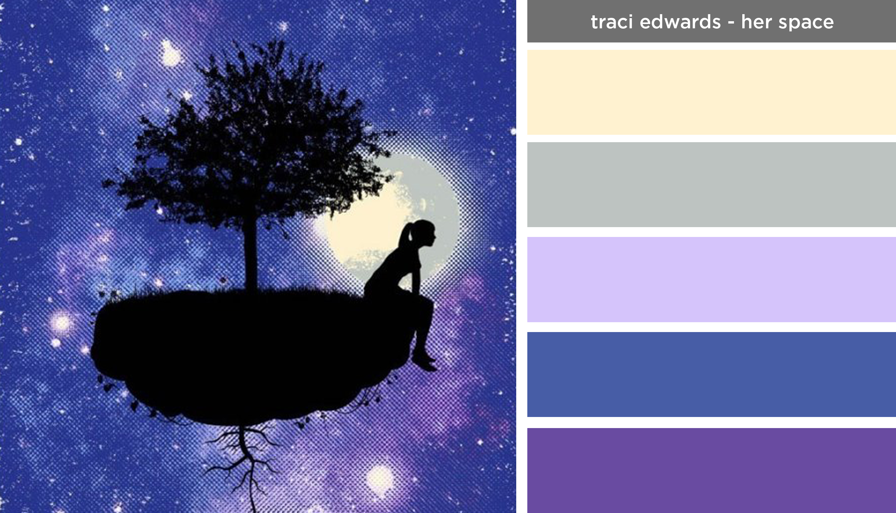 Art Inspired Palette Traci EdwardsHer Space  The Design