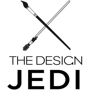 The Design Jedi | Logo | Vertical