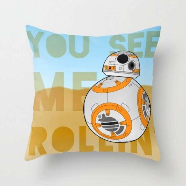 BB8 Design | Pillow | The Design Jedi