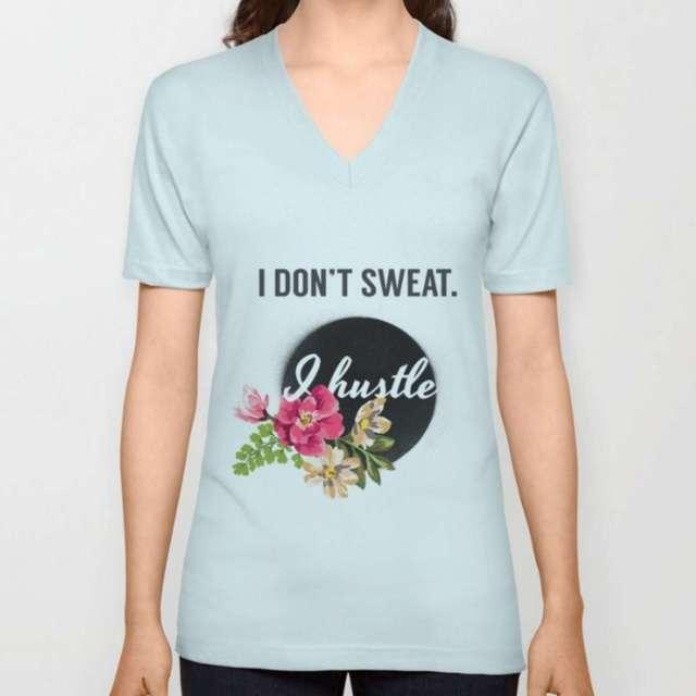 Hustle Design   T-Shirt   The Design Jedi