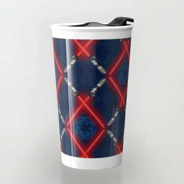 Imperial Lattice Pattern | Travel Mug | The Design Jedi