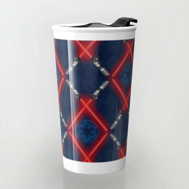 Imperial Lattice Pattern | Travel Mug | The Design Jedi