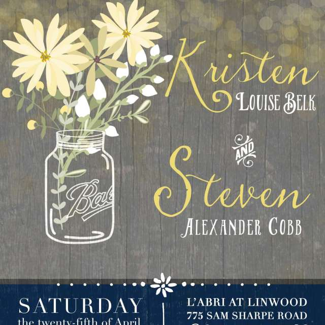 The Design Jedi - Wedding Programs - Cobb Family