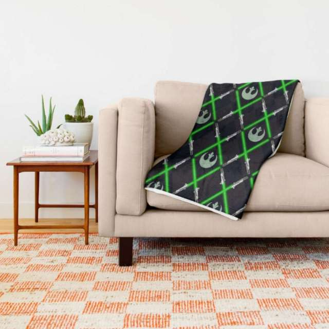 Jedi Lattice Pattern | Throw Blanket | The Design Jedi