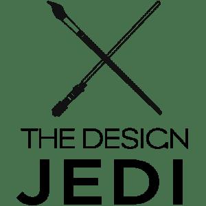 The Design Jedi   Logo   Vertical