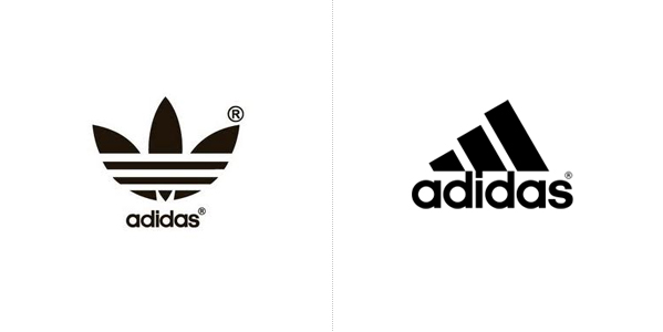 Famous Brands Now and Then!