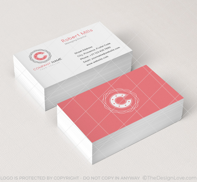 Letter C Logo & Business Card Template The Design Love