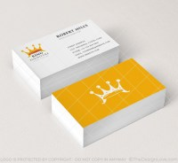 King Furniture Logo & Business Card Template