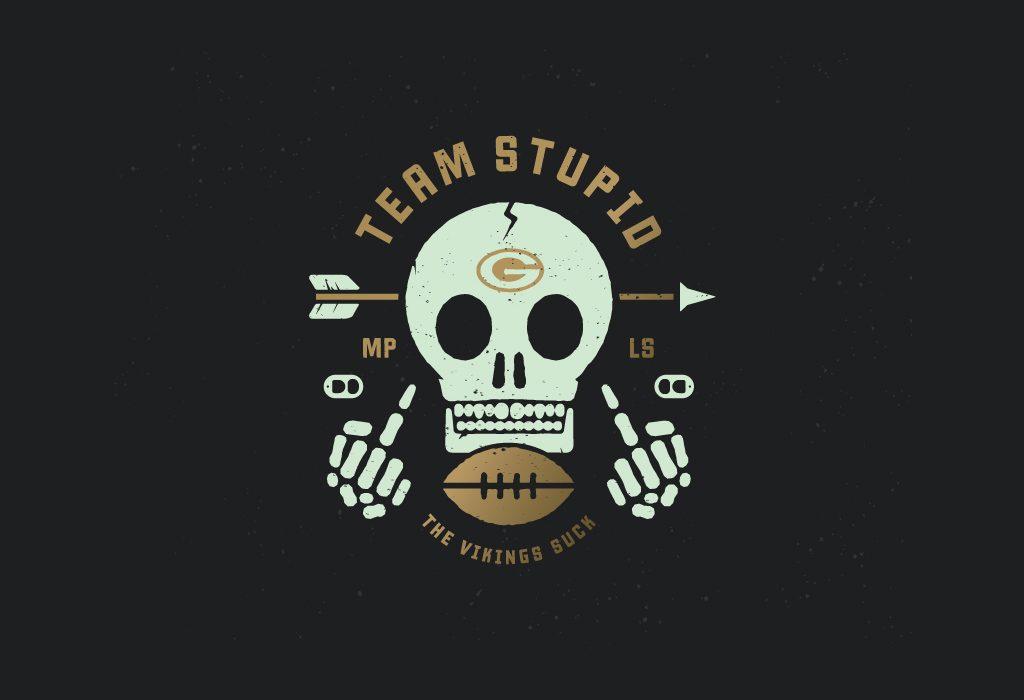 25 creative skull logo