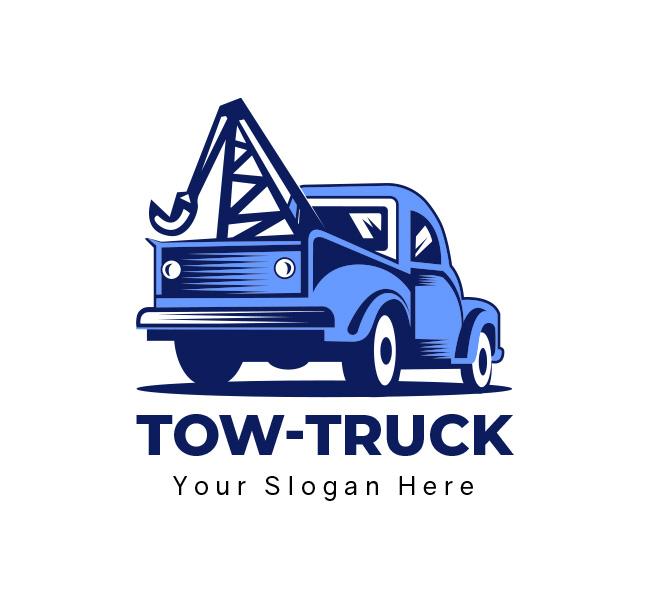 tow truck logo business
