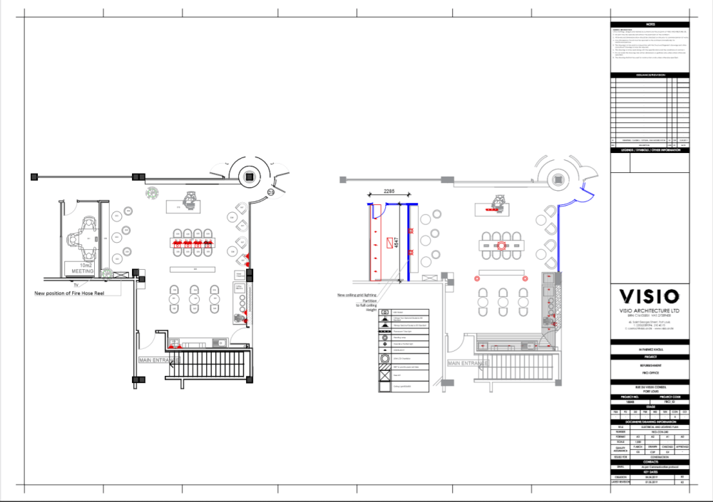 medium resolution of this week i also did a demolition and building plan and furniture layout plan of a new project called cap research it is a laboratory situated in trianon