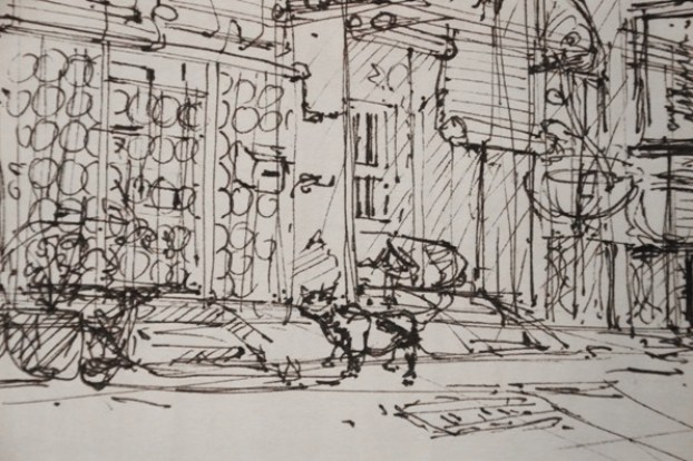 penang-chinatown-theDesignSketchbook a