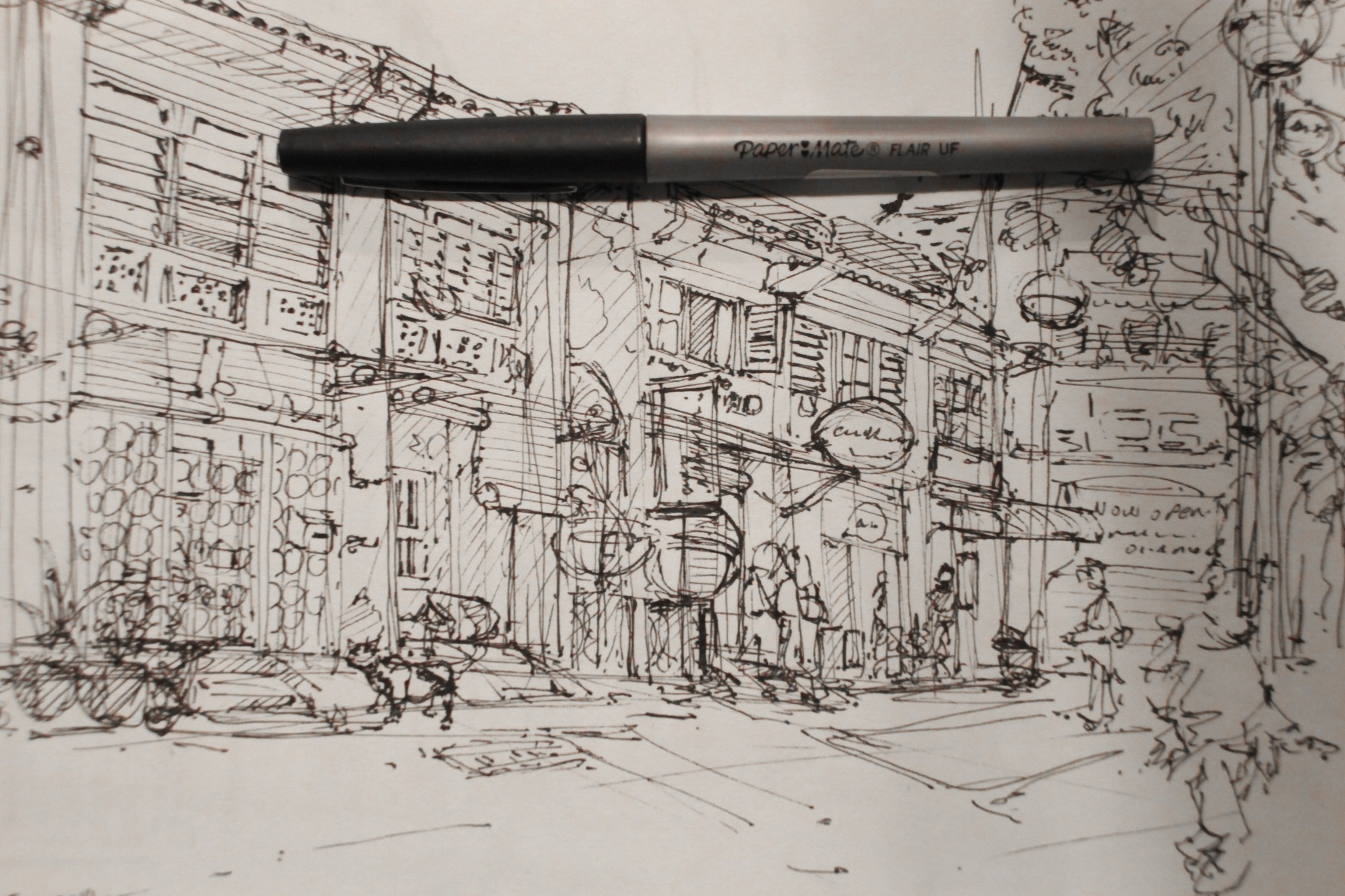 penang-chinatown-theDesignSketchbook b