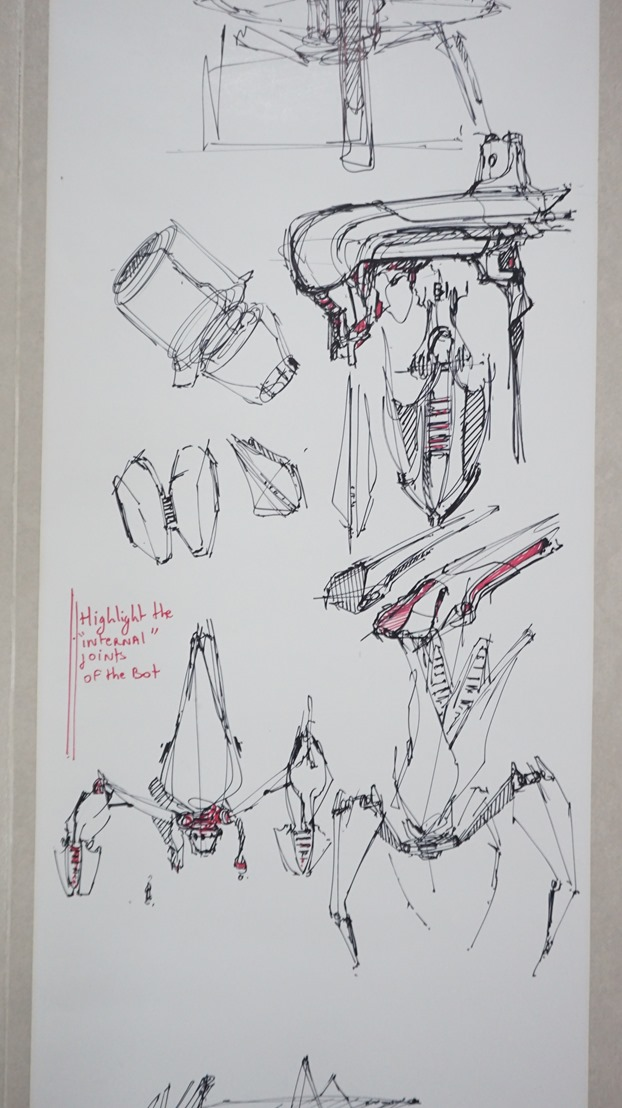 thursday-7days roll of paper challenge-the design sketchbook b Highlight the internal joint