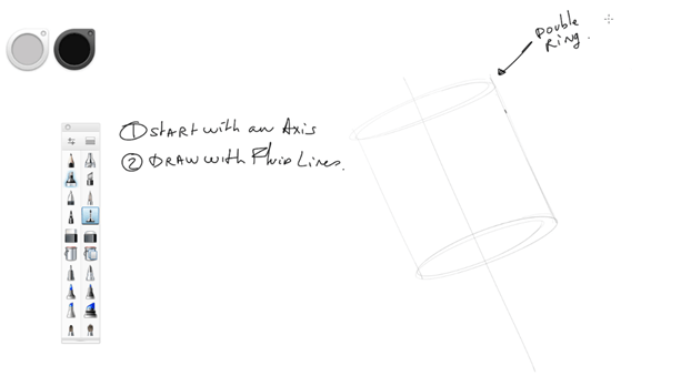 Draw with fluid lines