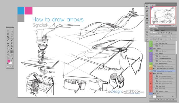 Arrows the Design Sketchbook a