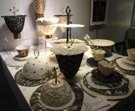 Sandy Godwin's delicate lace-like ceramic creations | Photo: The Design Tabloid