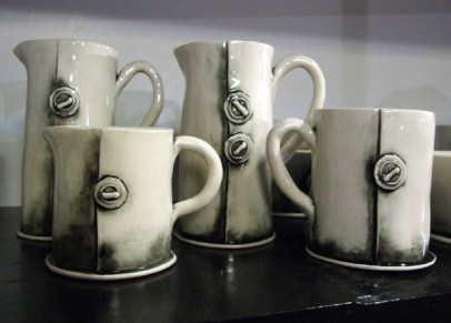 Some gorgeous rustic ceramics from Stoor | Photo: The Design Tabloid