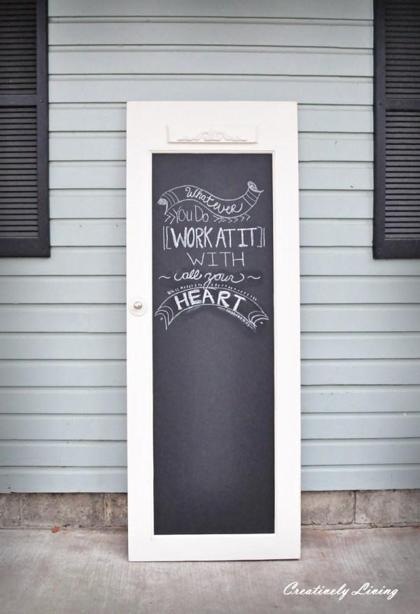 Quick Tip #26 Doors Chalkboards Design Tabloid