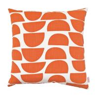 Cushion with retro geometric design via Skinny laMinx | http://shop.skinnylaminx.com/products/cushion-cover-50x50cm-bowls