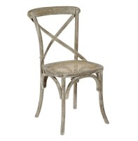 Lime washing gives wood an aged look | via http://www.kathykuohome.com/Product/Detail/3696-Classic-Parisian-Swedish-Gustavian-White-Wash-Cafe-Chair-Set-of