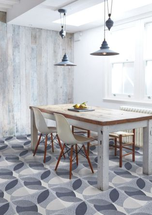 Graphic geo floor tiles by Lindsey Lang Design | via http://design-milk.com/lindsey-lang-design-introduces-graphic-tiles/