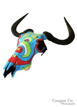 Shongololo Studio - Painted Skulls {The Design Tabloid} (5)