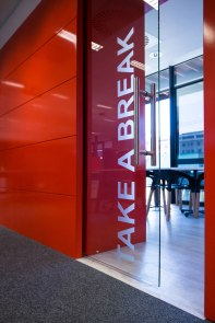 Regent Insurance Flagship Office - Break Away Room