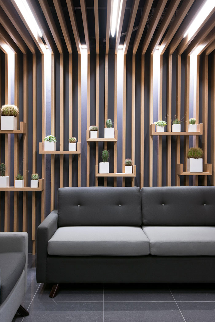 Regent Insurance Flagship Office  Waiting Area Wall  The