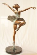 """Centre Point: Dancing Ballerina"" by Llewellyn Davies 