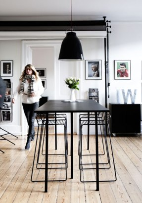 Dining Room | Decor Trend: Black Metal Accessories