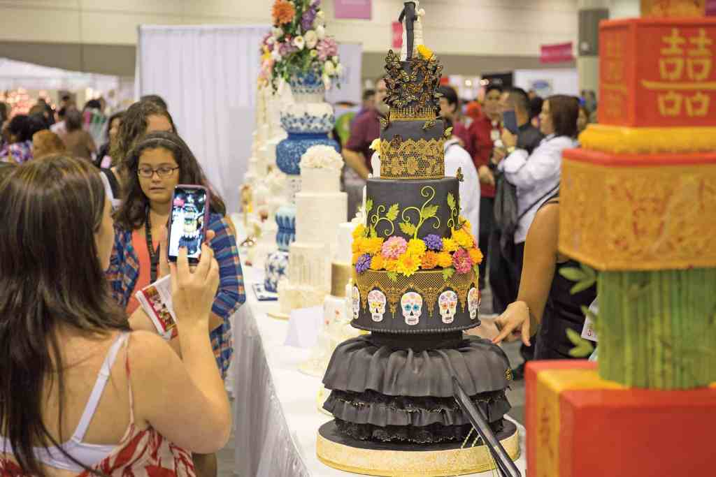 Attendees can learn cake decorating techniques and draw inspiration from some of the world's finest designer cakes on display at The Americas Cake Fair. photo credit: The Americas Cake Fair