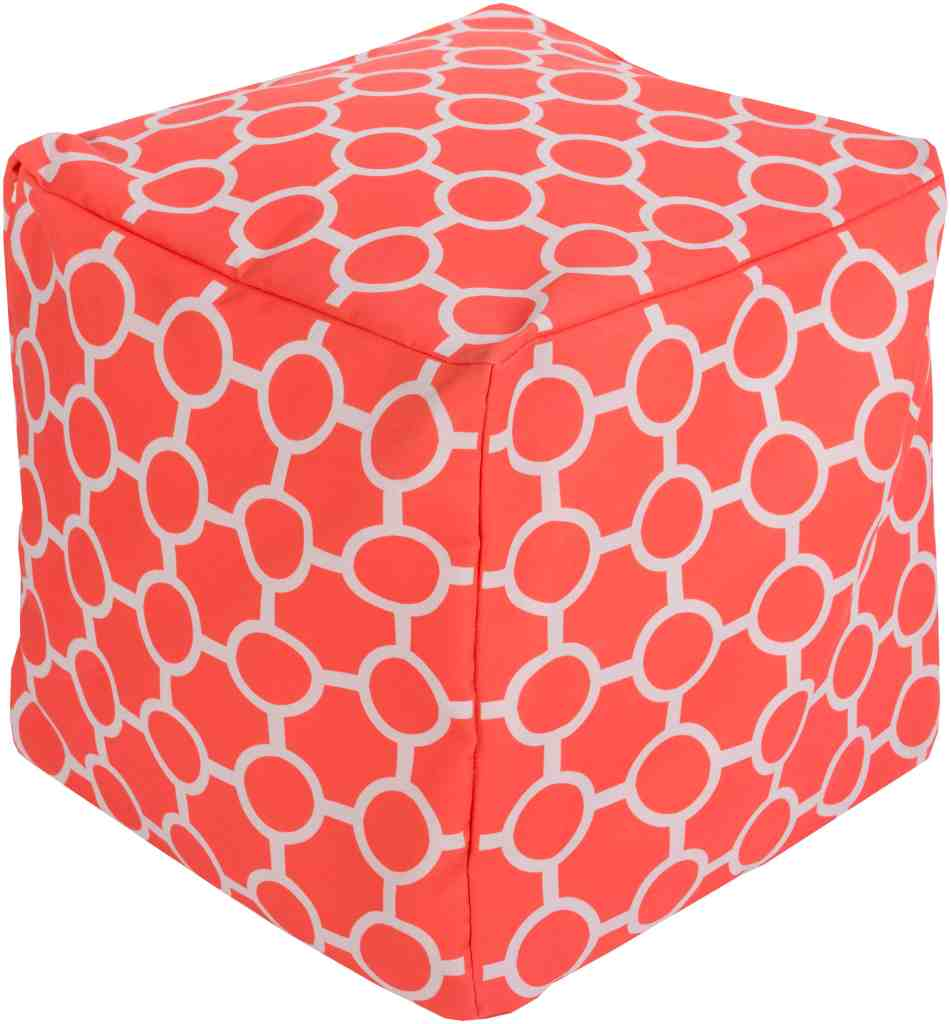 Home accessories by Surya in Pantone's Color of the Year 2019 Living Coral