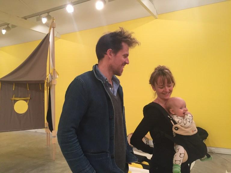 Hugo Moline and Heidi Axelsen