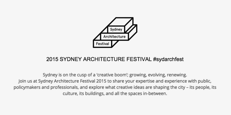 Sydney Architecture Festival