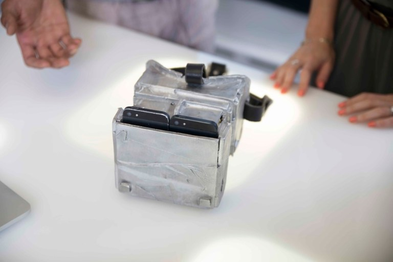 Detail view of the viewfinder. Image: Fuelled Collective